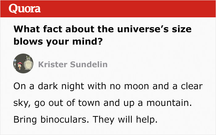 Person Deconstructs The Size Of The Universe So Well, It Makes People Question If Their Existence Even Matters