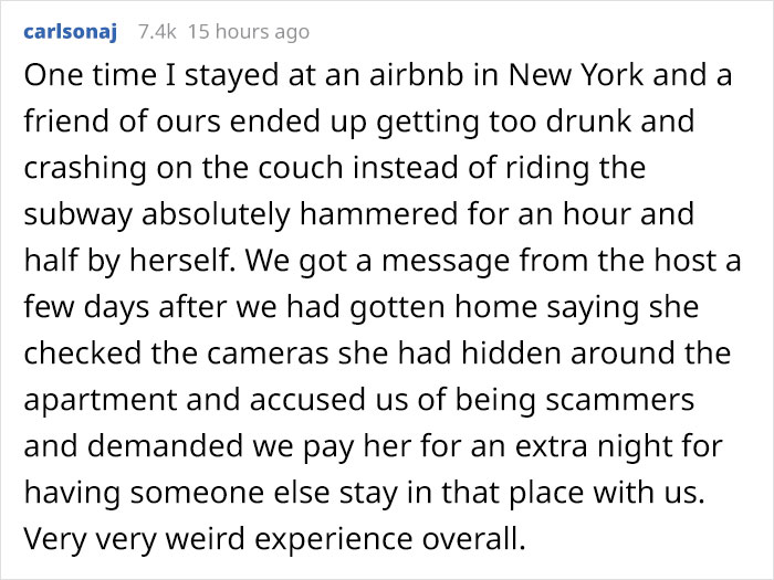 Man Shares How He Inspects Airbnbs For Hidden Cameras And Shares Places Where They Could Be Hidden