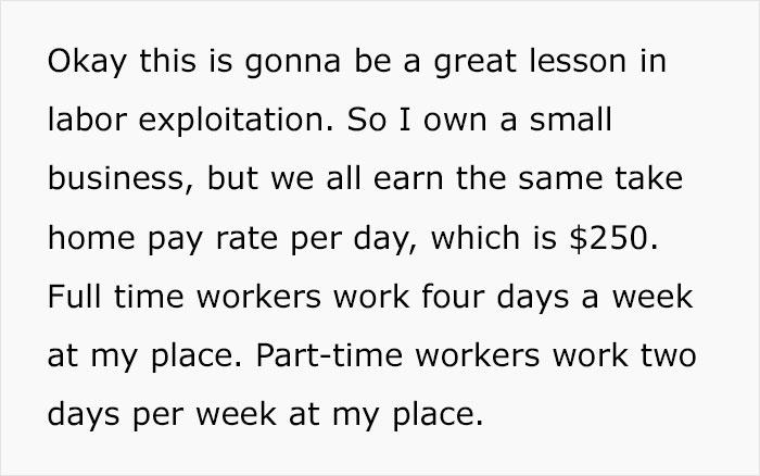 Store Owner Explains How Labor Exploitation Works, Says She Earns '70k Like Everybody Else'