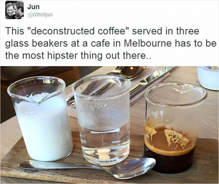 Freaking Deconstructed Coffee