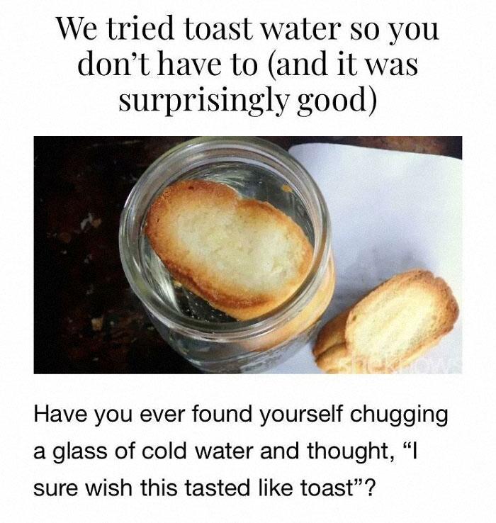 Toast Water