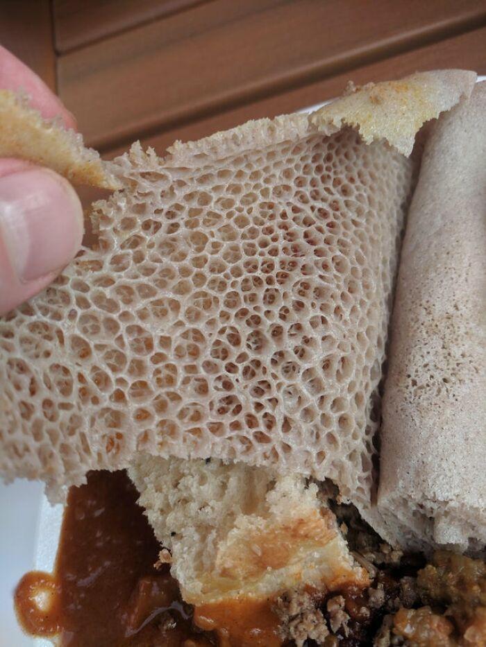 Este pan que se sirvió en la cena
