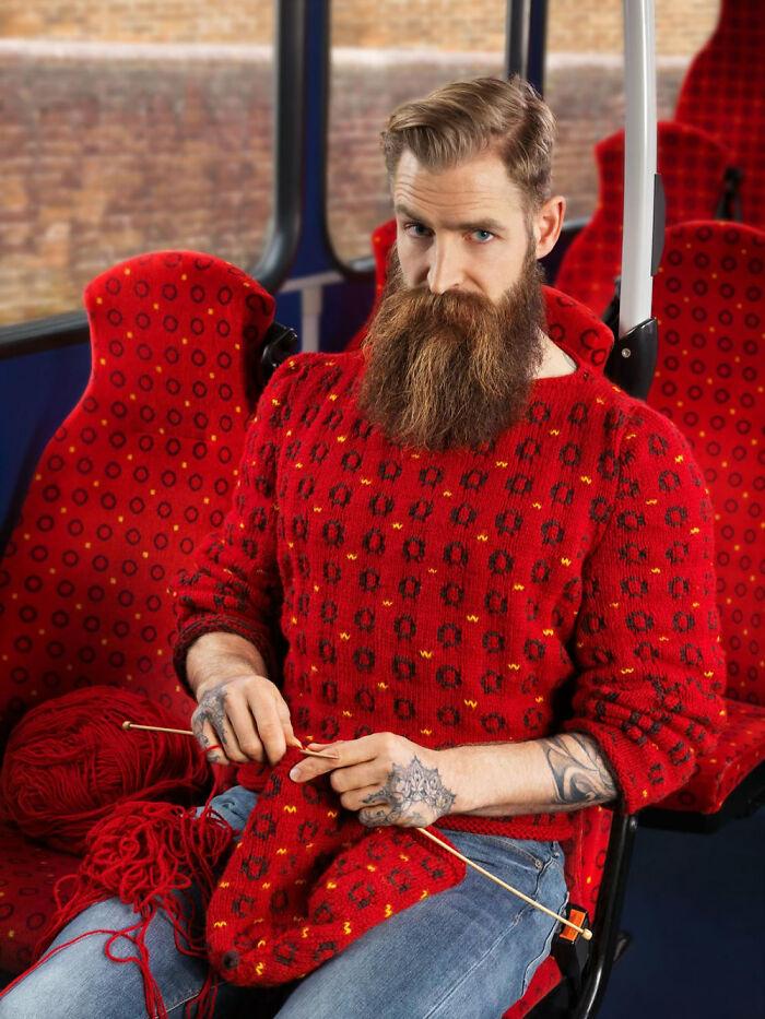 Suéteres invisibles por Joseph Ford