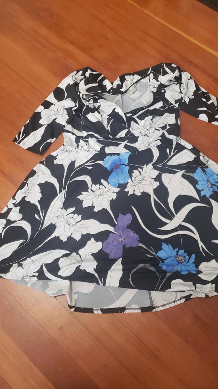 Cuando no puedo quitarle una mancha a mi vestido, lo coloreo con marcadores