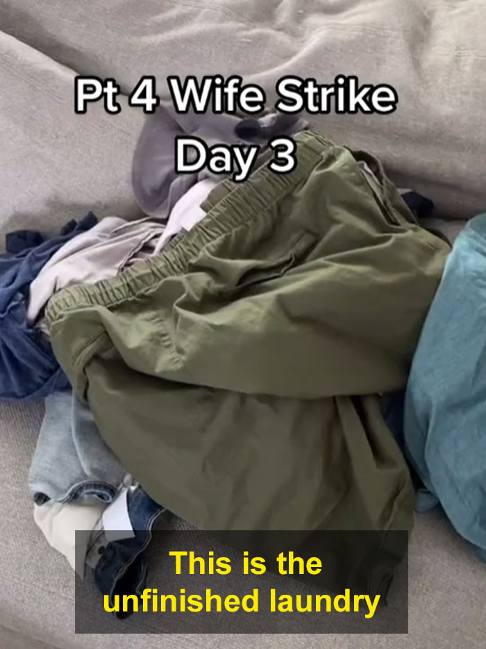 Husband Insists He's The One Cleaning, So The Wife Stops Cleaning His Mess For A Week To See How It Goes