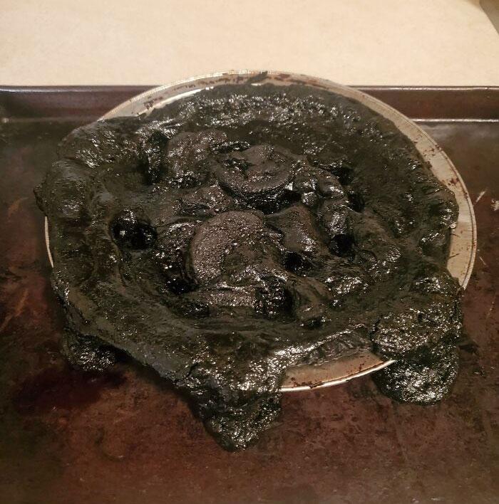 Me olvidé de que tenía una tarta de manzana en el horno