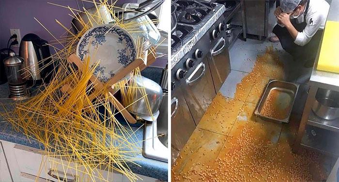 40 Fallos en la cocina que la gente no pudo evitar compartir (Nuevas fotos)
