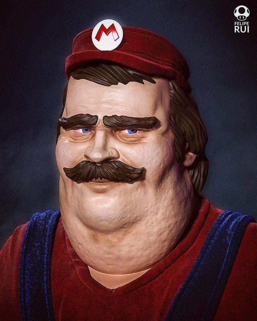 Mario Bross From Super Mario
