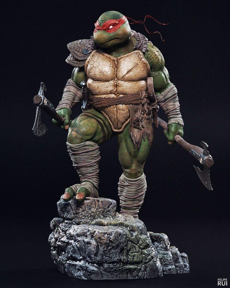 Raph From Teenage Mutant Ninja Turtles