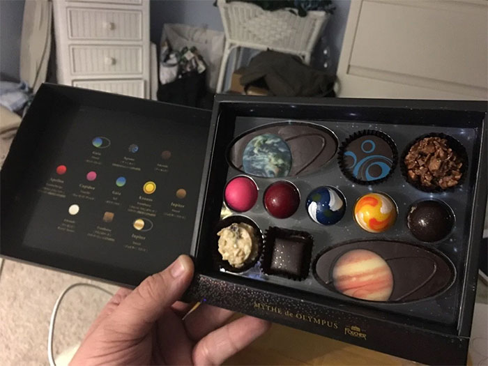 I Think Planetary Chocolates Would Make A Great Christmas Gift
