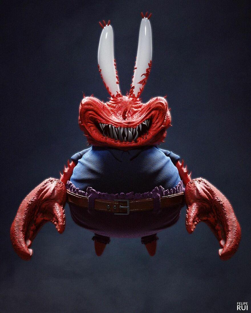 Mr Krabs From Sponge Bob