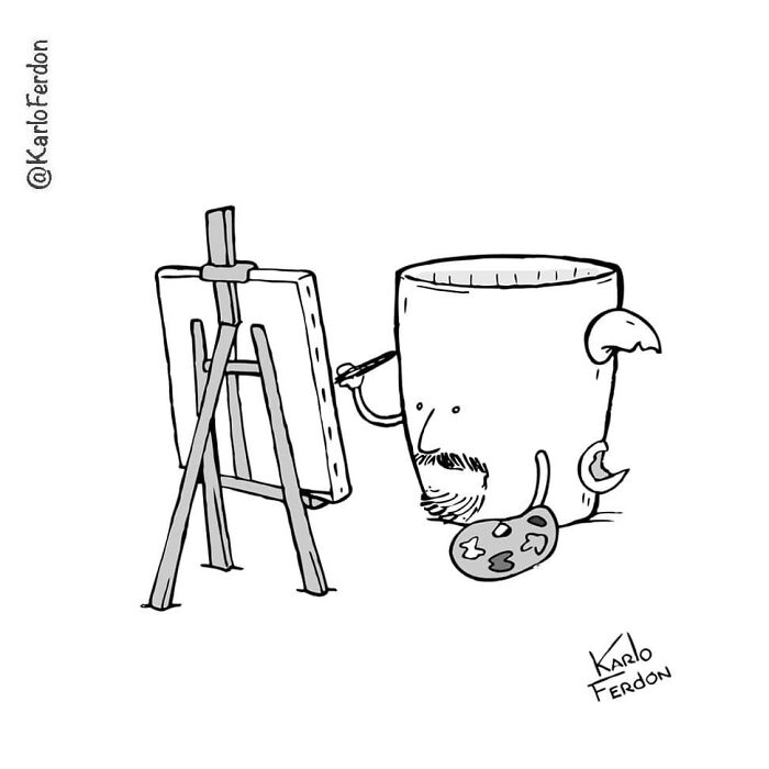 Karlo Fedon's Silent, Minimalist Humor (57 New Pics)