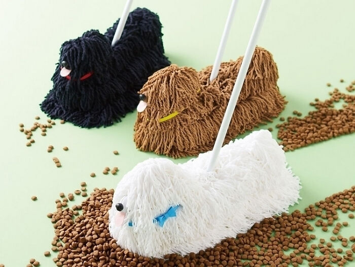 A Mop That Looks Like One Of Those Dogs That Look Like A Mop
