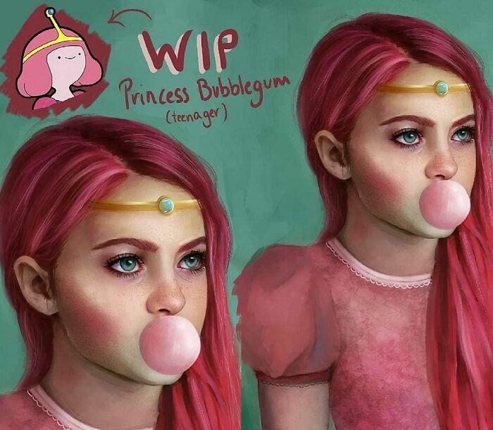 Princess Bubblegun From Adventure Time