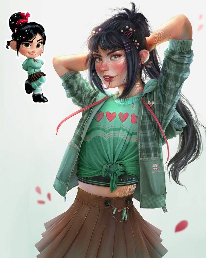 Vanellope From Wreck-It Ralph