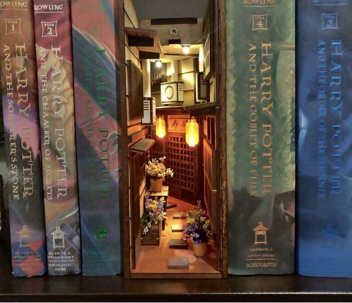 """A """"Book Nook"""" Alleyway"""