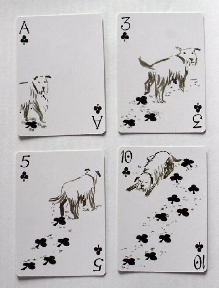 These Dog-Themed Playing Cards