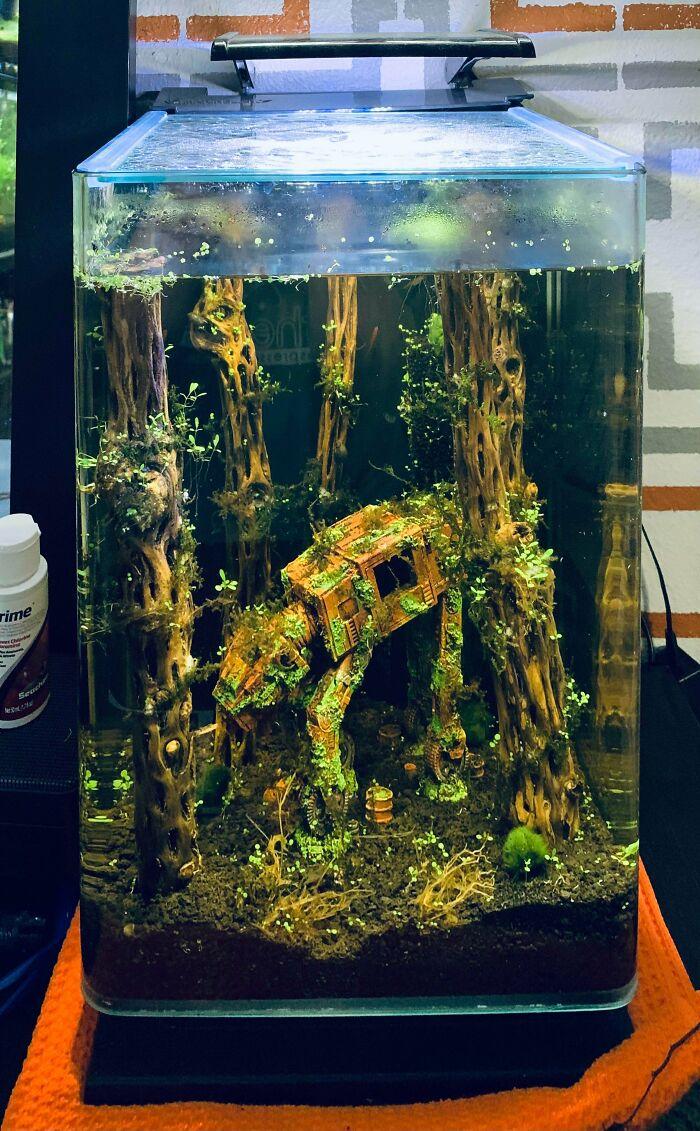 This Star Wars Fish Tank