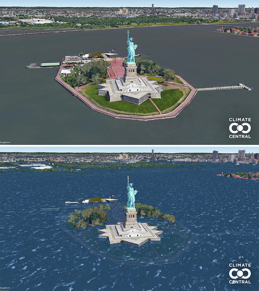 Statue Of Liberty National Monument, New York, New York, United States
