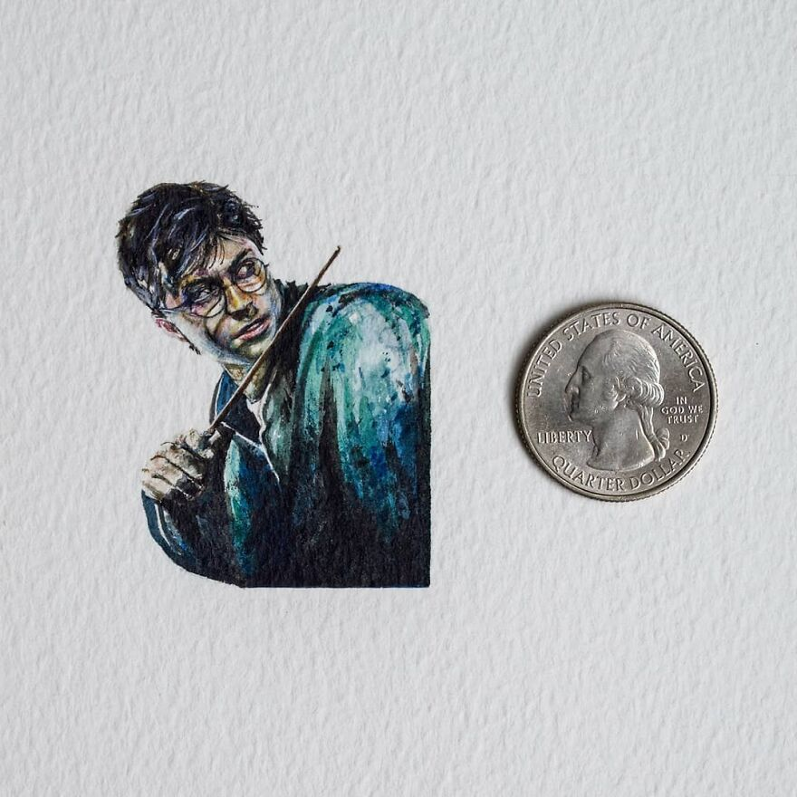 I Want You To Stop And Appreciate The Little Things In Life So I Create Miniature Paintings
