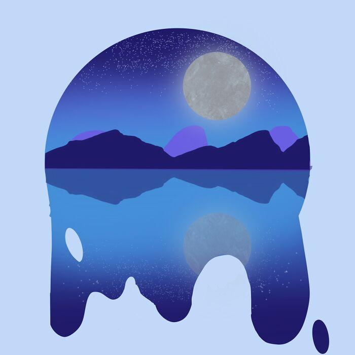 Moonlight Scene (I Used A Bit Of A Tutorial)
