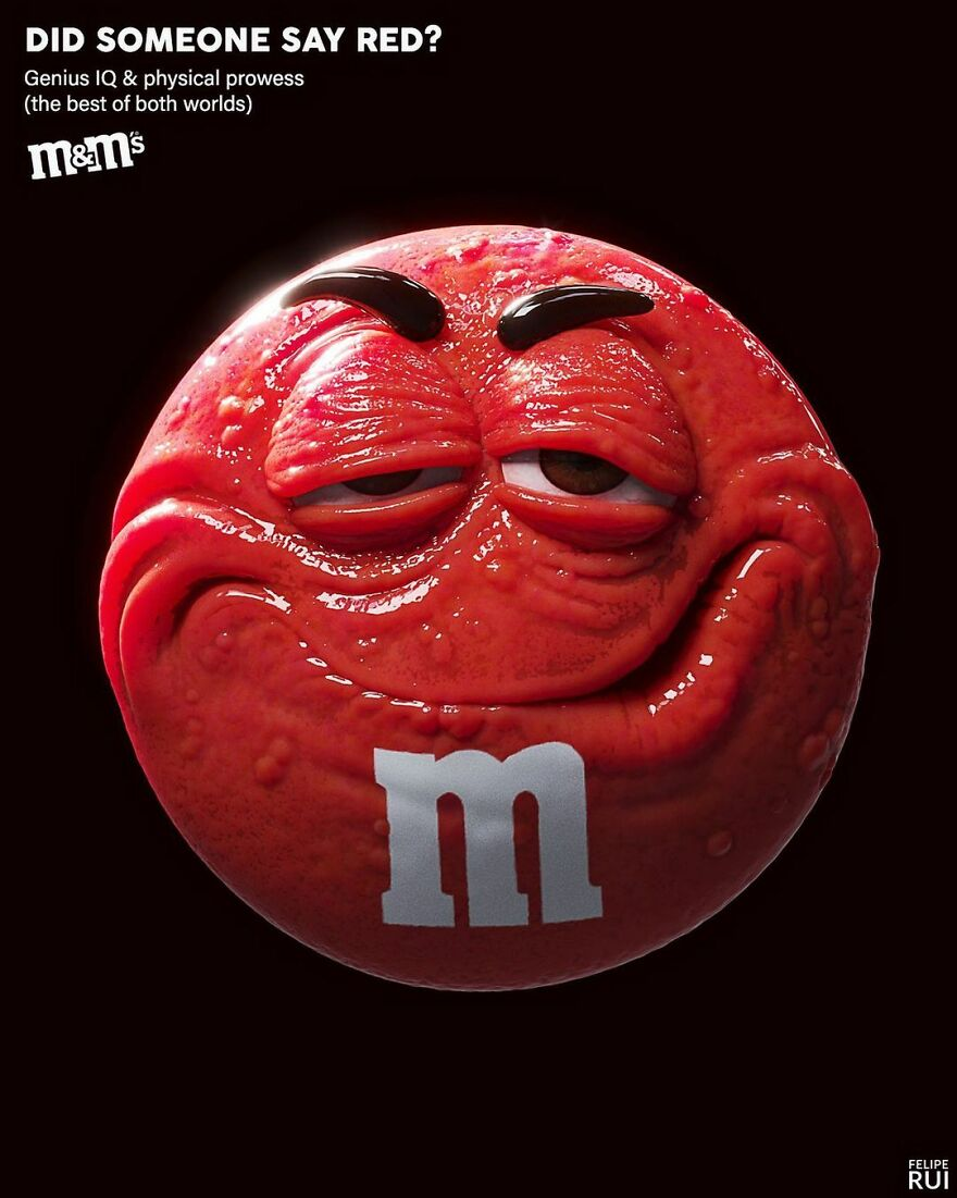 The Red M&m