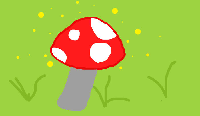 Mushroom (Also I Drew This With A Mouse So It's Pretty Bad)