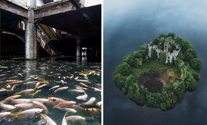 40 Eerie Pictures Of Abandoned Places, As Shared In This Online Community (New Pics)