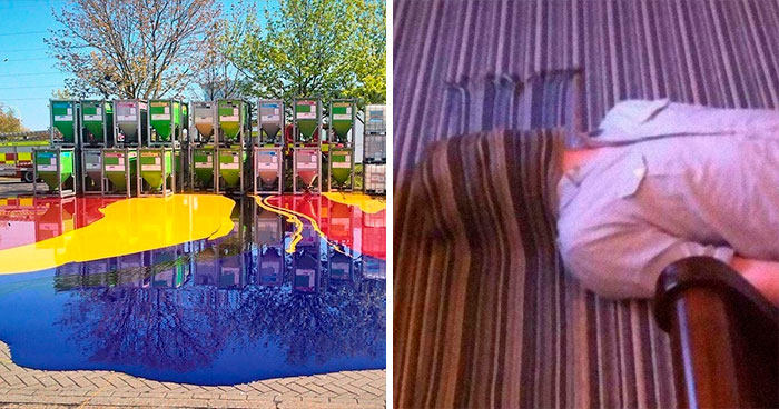 50 Times People Accidentally Noticed Surreal Things In Real Life, So They Shared It On This Online Group