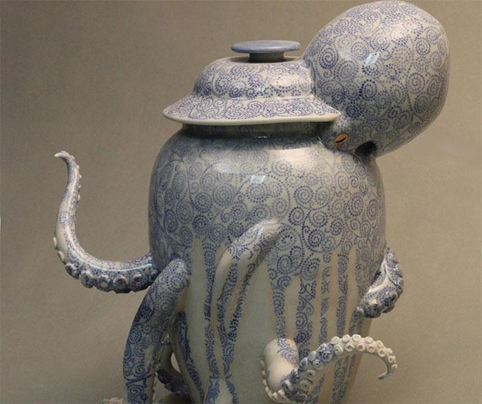 30 Surreal And Glitchy Ceramic Artworks By Keiko Masumoto