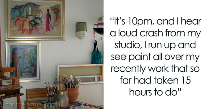 Woman Wants To Know If She Is The Jerk For Charging Her Sister $3,400 For A Painting Her 9 Y.O. Nephew Ruined