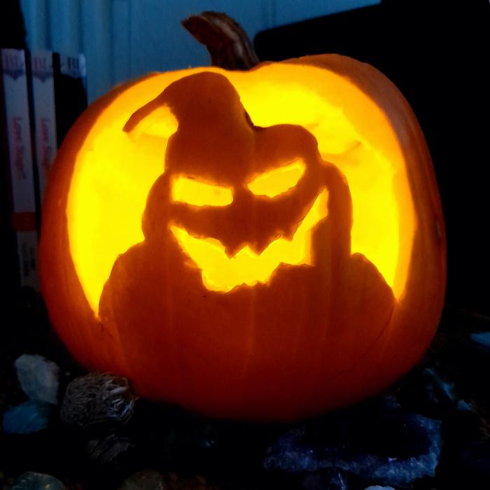 Hey Pandas, Show Me Your Best Halloween Pumpkins