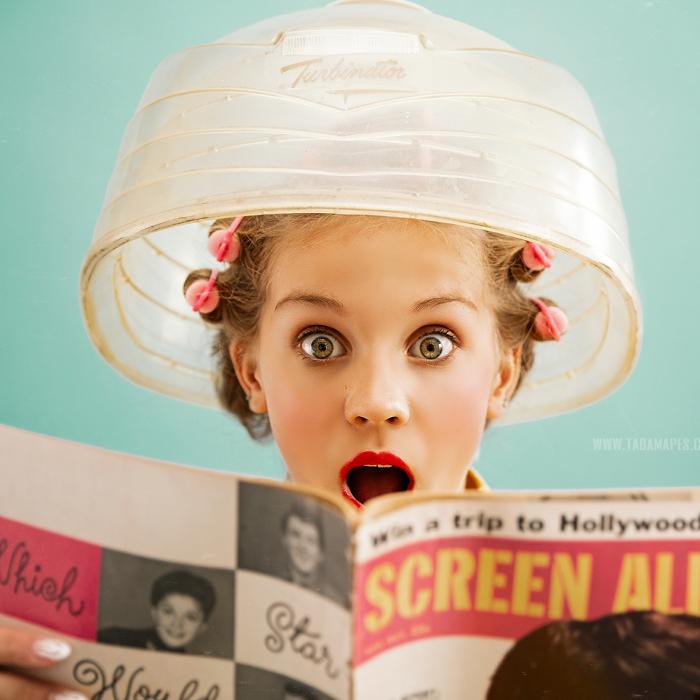 How My Adhd Helped Me Create This 50s Hair Salon Shoot (19 Pics)