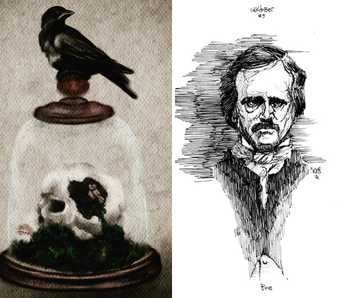 Hey Pandas, Share Some Of The Inktober Artworks You've Done