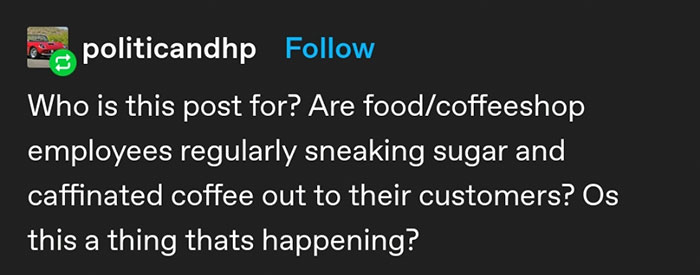 Person Pens Down How Important It Is To Serve Customers Exactly What They Ordered And The Tumblr Thread Goes Viral