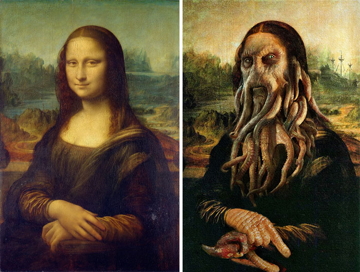 In Honor Of Halloween, Artists From DesignCrowd Combine Classical Paintings With Halloween Pop Culture (30 Pics)