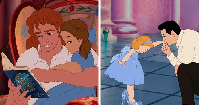 Disney Princes Reimagined As Dads In These 8 Illustrations By Russian Artist Oksana Pashchenko