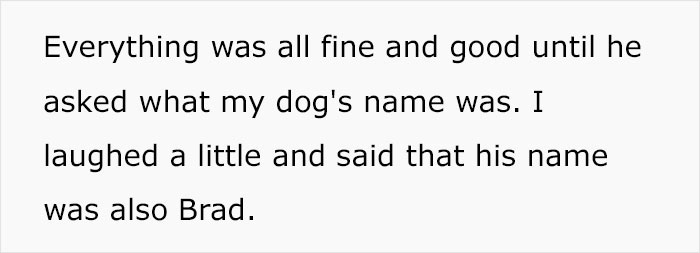 Person Gives Their Dog A Human Name, Turns Out His Sister's Boyfriend Is Named The Same And Family Drama Ensues