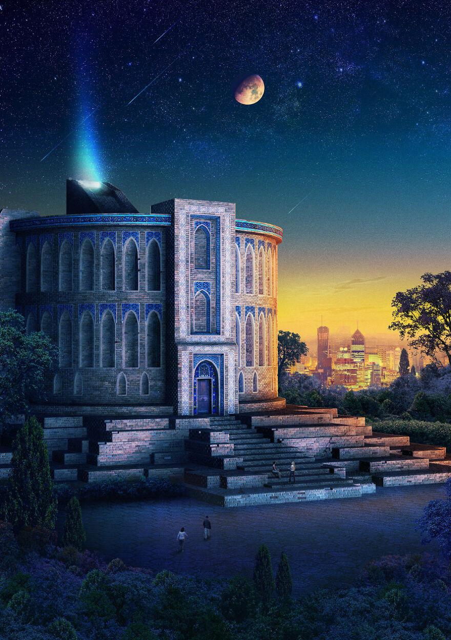 Takkyubin Observatory Of Constantinople