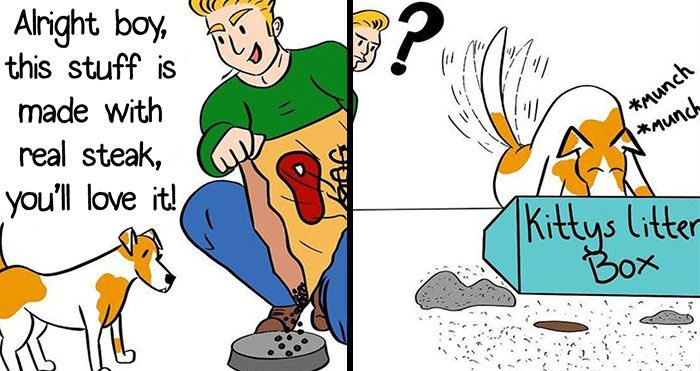 30 Ridiculously Funny Comics By 'Cheddar Bacon Studios'