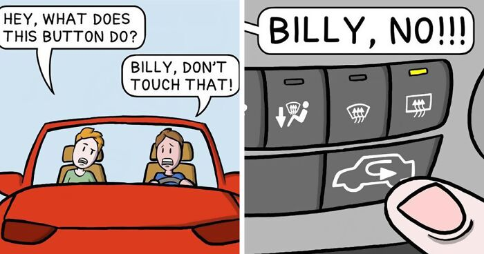 Artist Turns His Absurd And Twisted Thoughts Into Hilarious Comics (50 New Pics)