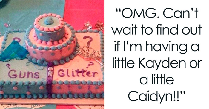 People Are Cringing At These 30 Posts About Gender Reveal Parties