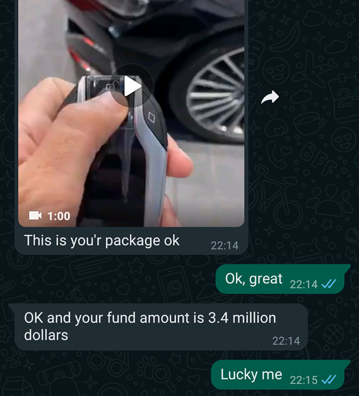 Nigerian Scammer Gets Hilariously Roasted Without Even Realizing