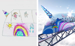 Our Company Asked Kids To Draw Their Dream Trains And Turned Them Into Realistic Designs (8 Pics)