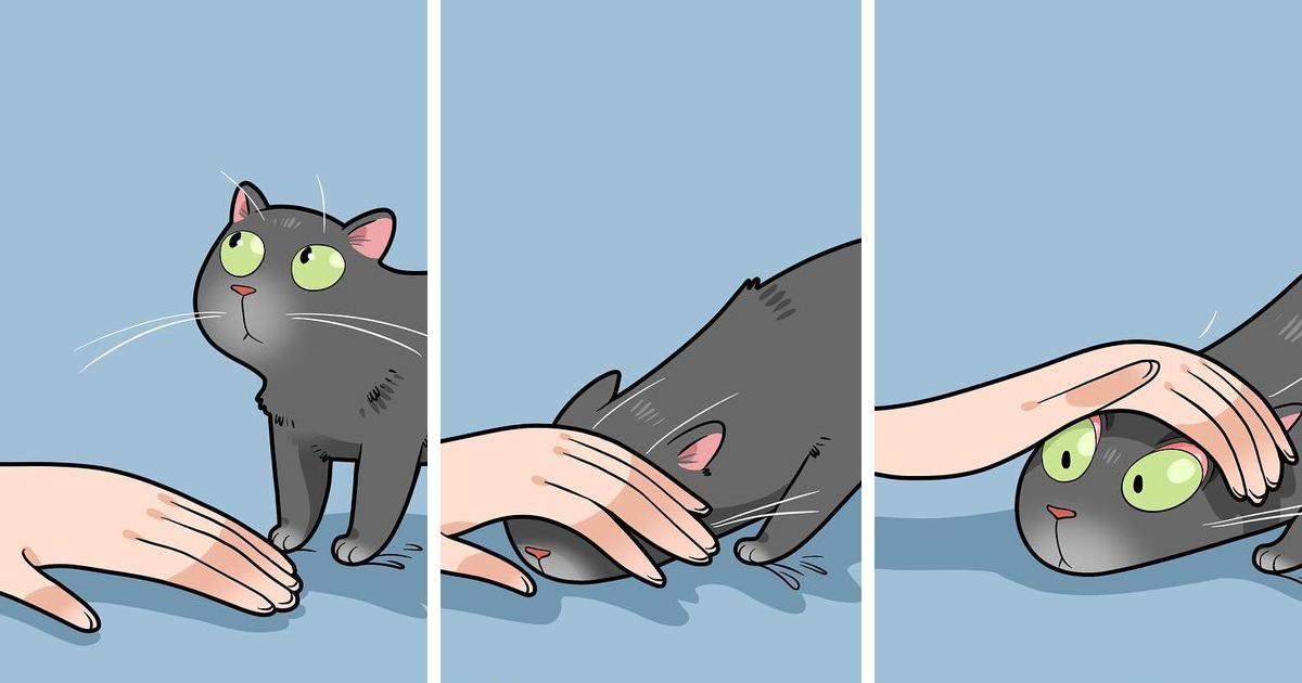 Esta artista ilustra cómo es vivir con un gato (25 nuevas imágenes)