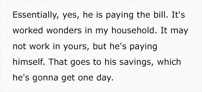 Mom Of A 7-Year-Old Shares How She Teaches Him Financial Responsibility By Charging Him Rent And Utilities, Divides Opinions
