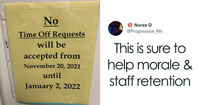 People Are Sharing Their Opinions On Companies Forbidding Taking Time Off During Holidays After A Tweet About It Went Viral