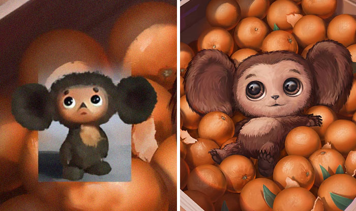 Here Are 30 Soviet Cartoon Characters This Russian Artist Redrew In His Style