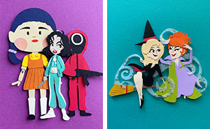 I Recreated My Favorite Spooky Characters Using Paper Art (38 Pics)