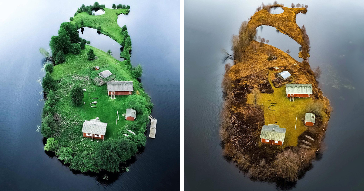This Photographer Captures The Beauty Of Arctic Islands In Different Seasons